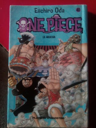 Vendo/ Cambio tomo 40 One Piece