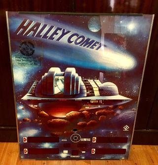 Cristal Pinball Halley Comet autentico