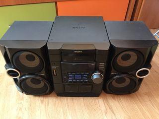 Minicadena Sony Sound round