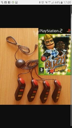 mandos juego buzz