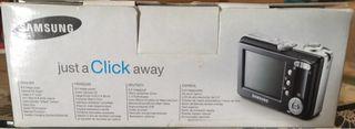 Cámara Samsung digimax s600