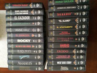 24 películas VHS de la colección Los Oscars.