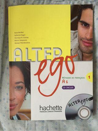 Libro alter ego 1 francés EOI