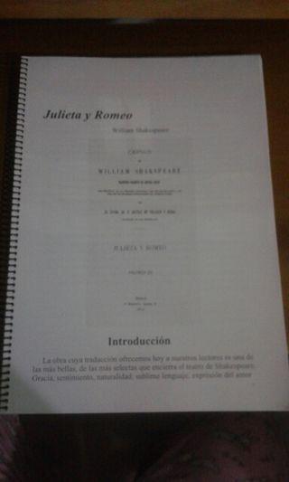 """Libro """"Julieta y Romeo"""""""
