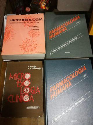 Libros de microbiologia para estudiantes de farmacia y/o medicina