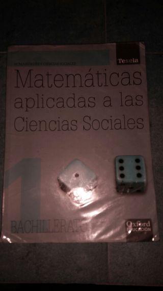 Matemáticas aplicadas a las Ciencia Sociales