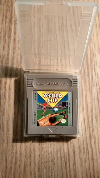 Juego Gameboy World Cup