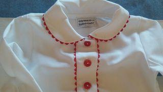 Camisa de Bebé T/6Meses Carmen Taberner
