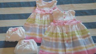 Vestidos bebé.Mayoral.Talla 2/4 meses.