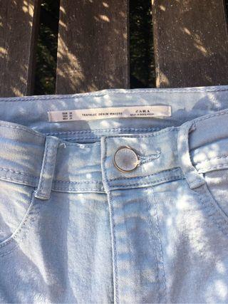 Pantalón elástico Zara