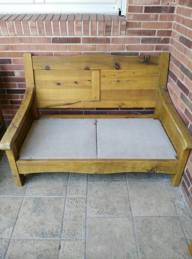 Conjunto para salon. Sofa, sillon dos plazas.