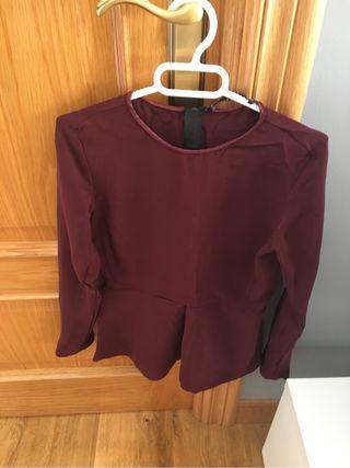 Blusa tejido tecnico Zara