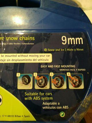 Cadenas de nieve,