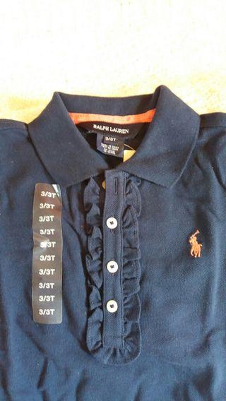 Polo bleu marine Ralph Lauren Neuf
