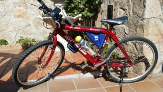 Bicicleta BH Topline aluminio 100% como nueva