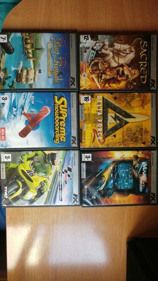 Pack de juegos PC 5€ TODOS!