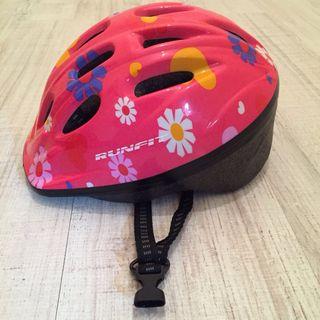 Casco de bicicleta niña