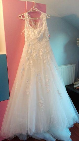 Chollo! Vestido de novia a más de mitad d precio!!