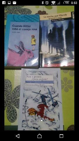 Libros de lectura de Santa Ana