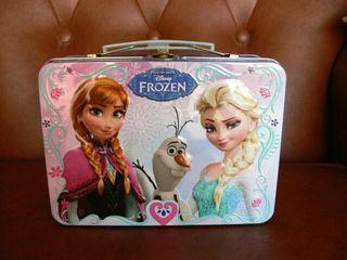 Caja metálica Frozen.
