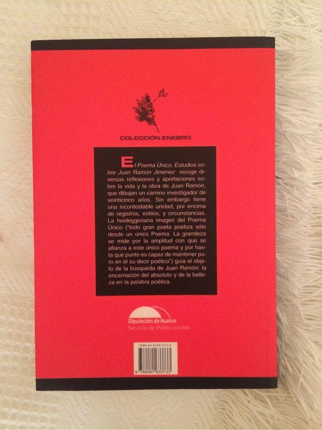 El Poema Único. Estudios sobre Juan Ramón Jiménez