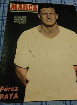 Diario-Revista deportiva antigua1954
