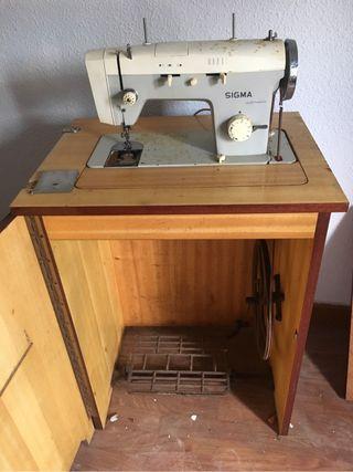 Maquina de coser sigma a restaurar