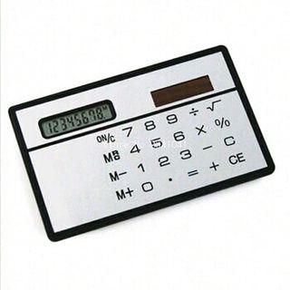 Calculadora Solar Bolsillo.