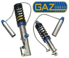 Suspensiones Roscadas GAZ SHOCKS a medida para carreras o para calle