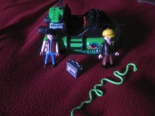 Playmobil,cazadores del pantano