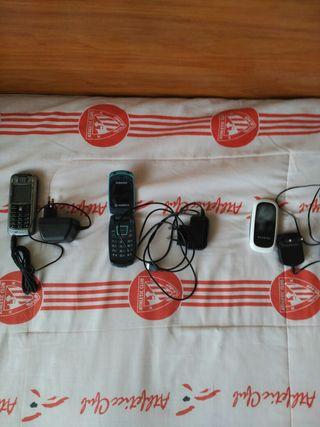 Samsung, Alcaltel y Nokia