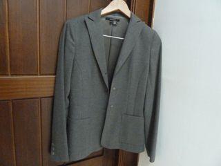 Chaqueta gris Zara