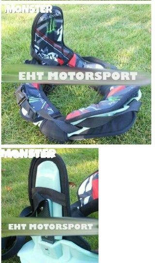 Collarin LEATT BRACE edición Monster - Motocross kart...