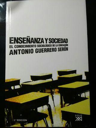 Libro 'Enseñanza y Sociedad' NUEVO