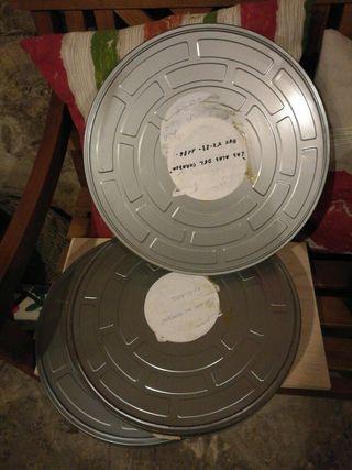 Cajas películas cine 35mm
