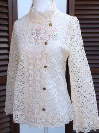 Blusa Brocada Zara