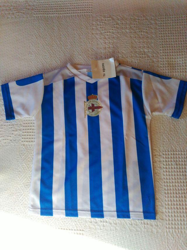Camiseta del F.C.Deportivo de la Coruña