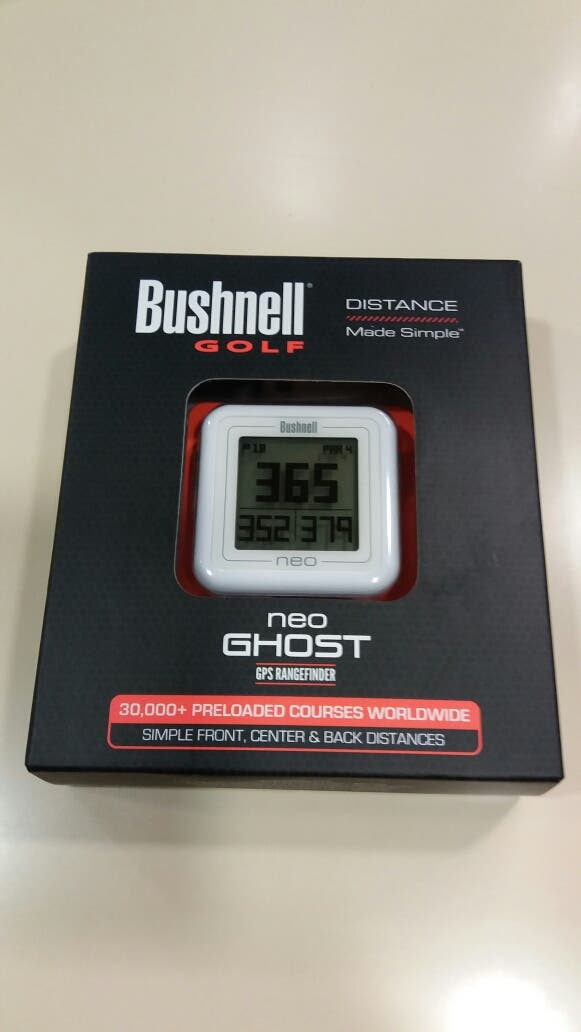 Medidor Golf GPS Bushnell neo Ghost white