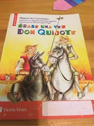 Érase una vez Don Quijote ,vicens vives
