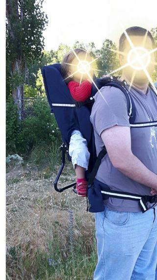 Mochila travesia espalda portabebes Jane