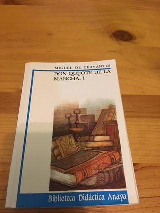 Don Quijote de la mancha I Anaya