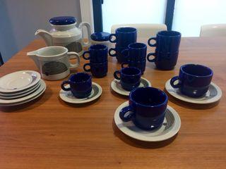 Juego de café cerámica
