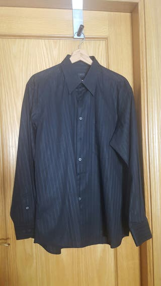 camisa Mirto negra talla XL
