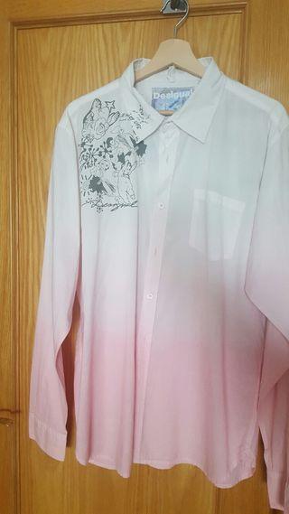 camisa desigual talla XL sin uso por cambio de talla