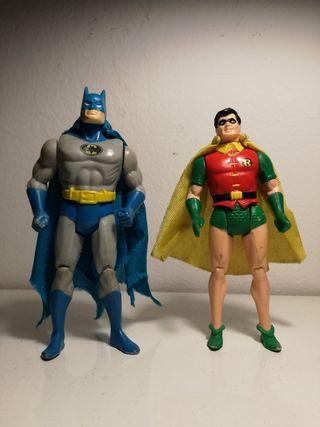 Batman & Robin kenner superpowers DC 1984.