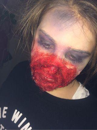 Maquilladora para halloween