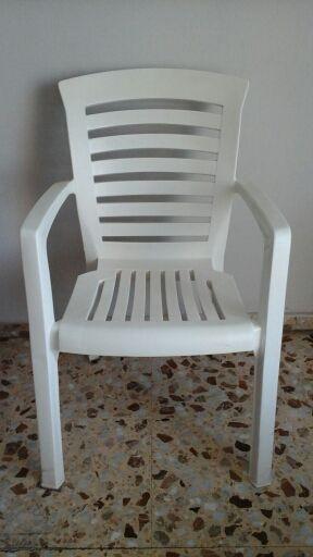 2 Sillones Resina Diseño Italiano