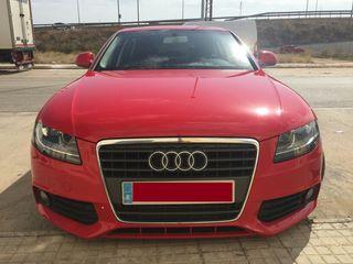 Audi a4 rojo