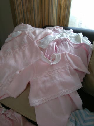 Lote de ropa bebe de 0 a 3/6 meses