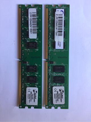Memorias MicroMemory DDR2 2 Gb